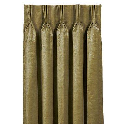 Lucerne Pinch Pleat Curtain Panel Ocean 108 X 20