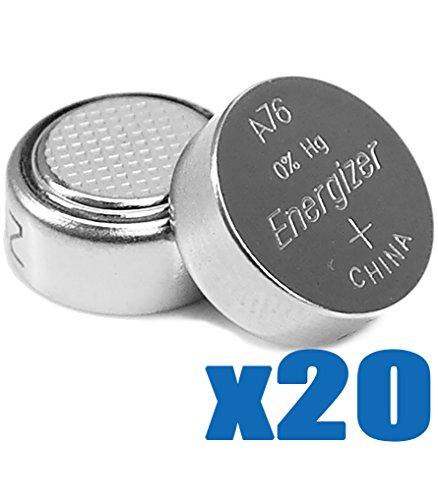 [ 20 pcs ] Energizer LR44 , AG13 , A76 1.5v Alkaline