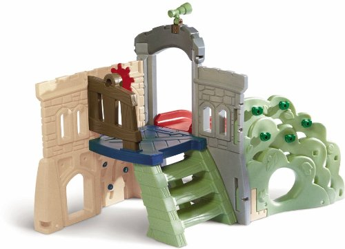 An Image of Little Tikes Endless Adventures Rock Climber and Slide