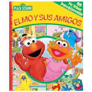 Elmo y Sus Amigos Look & Find Book