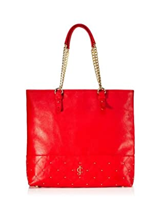 Juicy Couture Tomi Leather Anya Tote, Siren Red