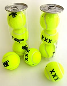 Buy 2 Cans Of XXX Tennis Balls - For A Game Of Love... Or Lust! by Penn
