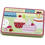 Mudpuppy Sweets And Treats Magnetic Design Sets Multi