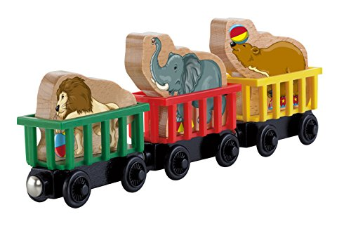 Fisher-Price Thomas the Train Wooden Railway Circus Train 3-Pack