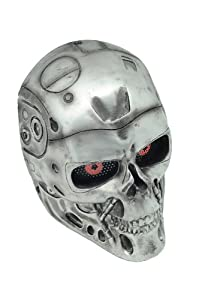 FMA New Wire Mesh Silver T800 Terminator Full Face Protection Paintball Mask L553 by FMA
