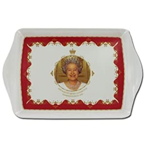 Queen Elizabeth II Diamond Jubilee Tray