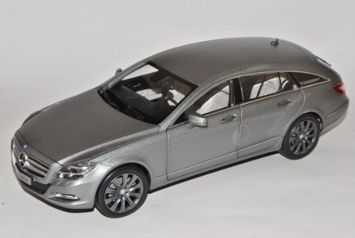 Mercedes-Benz CLS 350 Shooting Brake Designo Alanit Grau Magno X218 Coupe Kombi Ab 2011 1/18 Norev Modell Auto