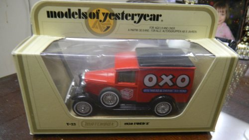"Matchbox Models of Yesteryear Y-22 1930 Ford ""A"" oxo Meat & Drink - 1"