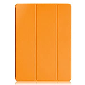 KHOMO iPad Pro Case 12.9 Inch - DUAL Orange Super Slim Cover with Black Rubberized back and Smart Feature (Built-in magnet for sleep / wake feature) For Apple iPad Pro 12.9'' Tablet ... from KHOMO