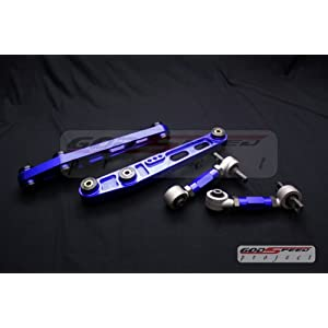 Model Rear Lower Control Arm + Rear Camber Kit Set Combo Set Blue