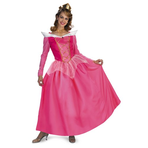Disguise Women's Disney Sleeping Beauty Aurora Prestige Costume
