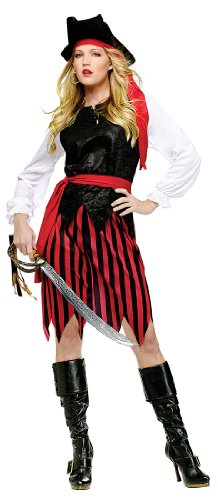 Fun World Women's Caribbean Lady Pirate Costume