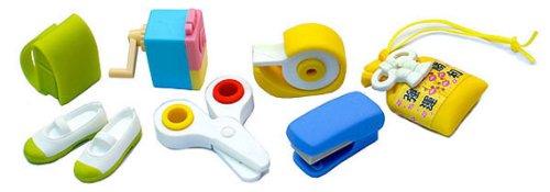 Iwako Japanese Eraser Set - School Accessories - 1