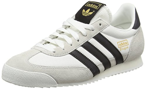 Adidas Herren Dragon Sneakers, Elfenbein (Vintage White-St/Core Black/Off White), 43 1/3 EU thumbnail