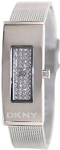 DKNY Silver-Tone Mesh Bracelet Women's watch #NY2109