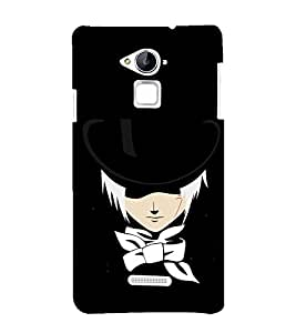 printtech Anime Naruto Character Back Case Cover for Coolpad Note 3 Lite