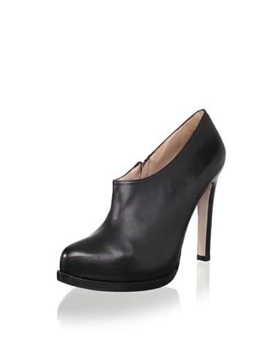Pura López Women's HH Shoe Bootie  - Black