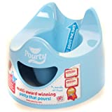 Pourty Easy-to-Pour Potty (Blue)by Pourty