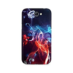 Mobicture Designer Abstract Premium Printed Case For Samsung Note 2
