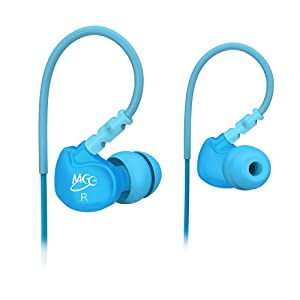 MEElectronics Sport-Fi M6 Noise-Isolating In-Ear Headphones with Memory Wire (Teal)