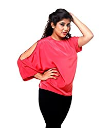 Tryfa Women's Top (Tryfa-36-XL_Red_X-Large)