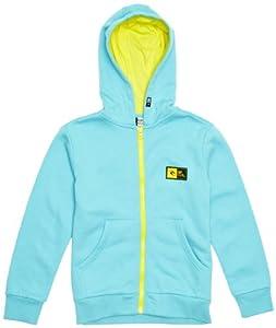 Rip Curl Contrasted Sweatshirt à capuche zippé garçon Capri FR : 10 ans (Taille Fabricant : 10)