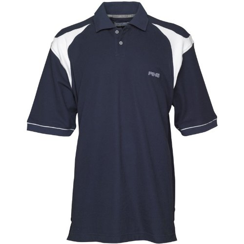 Ping Collection Mens Simian Panel Polo Navy/White
