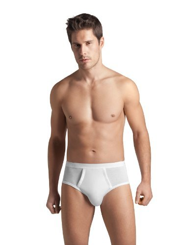 Hanro Men's Cotton Pure Brief With Fly
