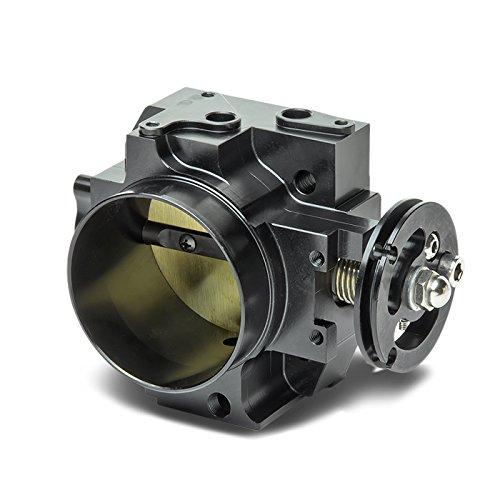 Honda/Acura K20 Engine High Flow Cast Aluminum 70mm Intake Manifold Throttle Body (Black) - EP3 FA5 FG2 DC5 (K20a3 Intake Manifold compare prices)
