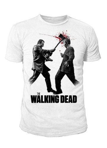 The Walking Dead - Axe to the Head T-Shirt (bianco) (S-XL) bianco S