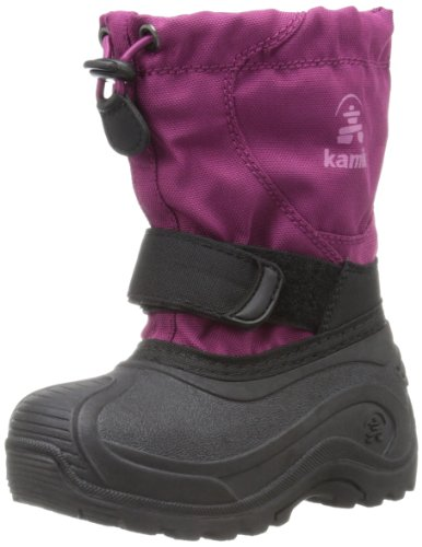 Kamik Footwear Upsurge Insulated Boot (Toddler/Little Kid/Big Kid),Berry,9 M US Toddler