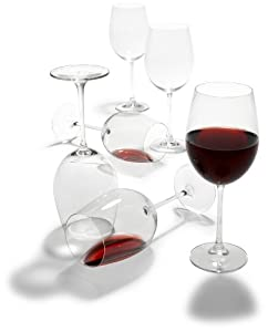 Tom Douglas by Pinzon Bordeaux Glasses, Set of 6, Nachtmann by Riedel