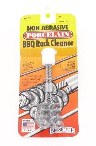 Brushtech Non-Abrasive Porcelain BBQ Rack Cleaner  B18C