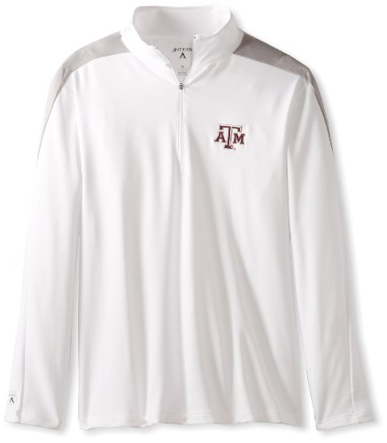 NCAA Men's Texas A&M Aggies Succeed Jersey Fleece Pullover (White/Silver, Large) Antigua Jackets autotags B005SWYZME
