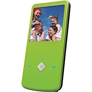 Ematic EM164VIDG 1.5-Inch 4GB MP3 Video Player (Green)