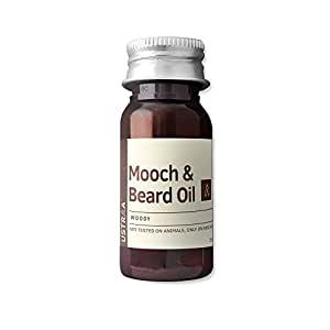 Ustraa by Happily Unmarried Woody Mooch and Beard Oil, 35ml