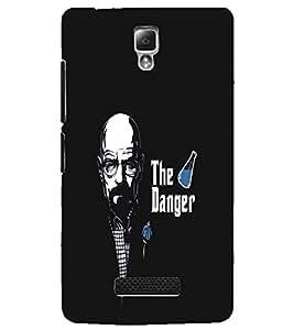 LENNOVO A2010 THE DANGER Designer Back Cover Case By PRINTSWAG