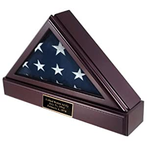 veteran memorial flag shadow boxes for 5ft x 9ft american burial Flag