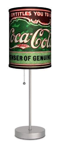 Coca-Cola - Antique Coupon Sport Silver Lamp
