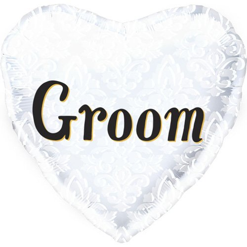 Groom Helium Foil Balloon - 18 inch - 1