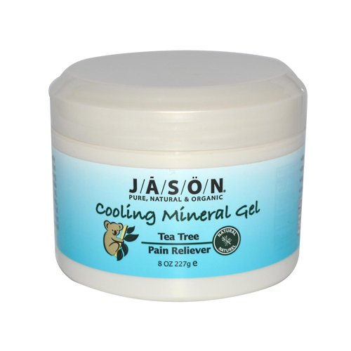 Wholesale Jason Cooling Mineral Gel Tea Tree Pain Reliever - 8 Oz, [Health Supplements, Pain Relief]