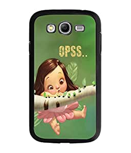 Fuson Cute Doll Back Case Cover for SAMSUNG GALAXY GRAND - D3981