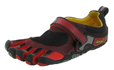 Vibram FiveFingers Men's Bikila, Black/Red, 40