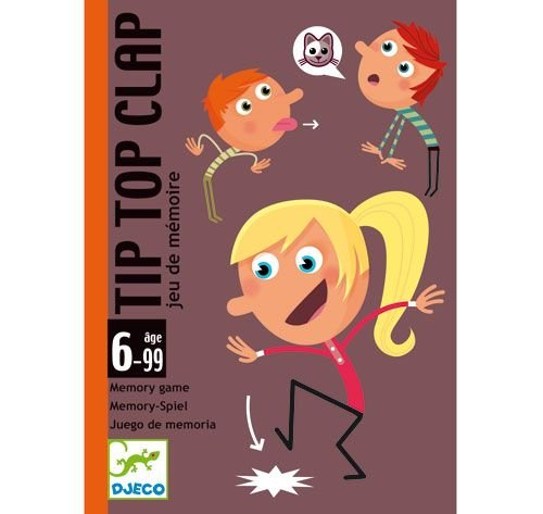 Djeco Tip Top Clap Memory Game