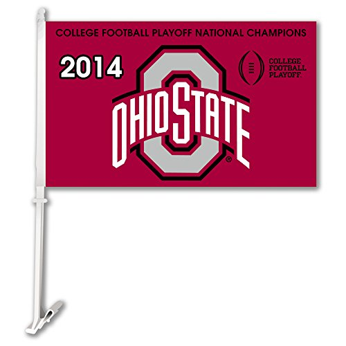 NCAA Ohio State Buckeyes 2014 National Champions Car Flag (Osu Buckeyes National Champions compare prices)