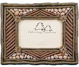 Rustic Twig & Rocks Photo Frame (Holds 4x6) (Vertical or Horizontal)
