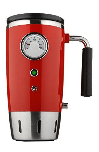 12V Auto Heated Retro Travel Mug (Red)