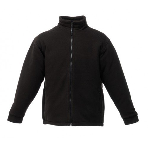 Regatta RG125 Men's Asgard II Quilted Anti Pill Symmetry Fleece Jacket, XX-Large, Black