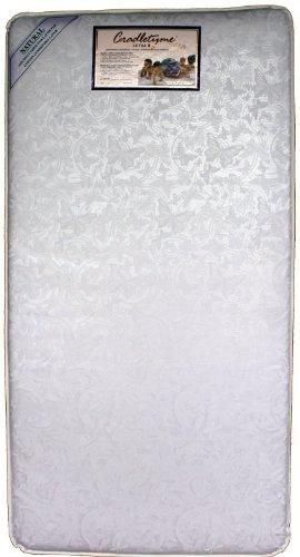 Colgate Ultra Ii 150 Coil Innerspring Crib Mattress White