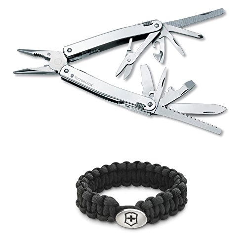 Victorinox Swiss Army Swisstool Spirit X With Paracord Bracelet